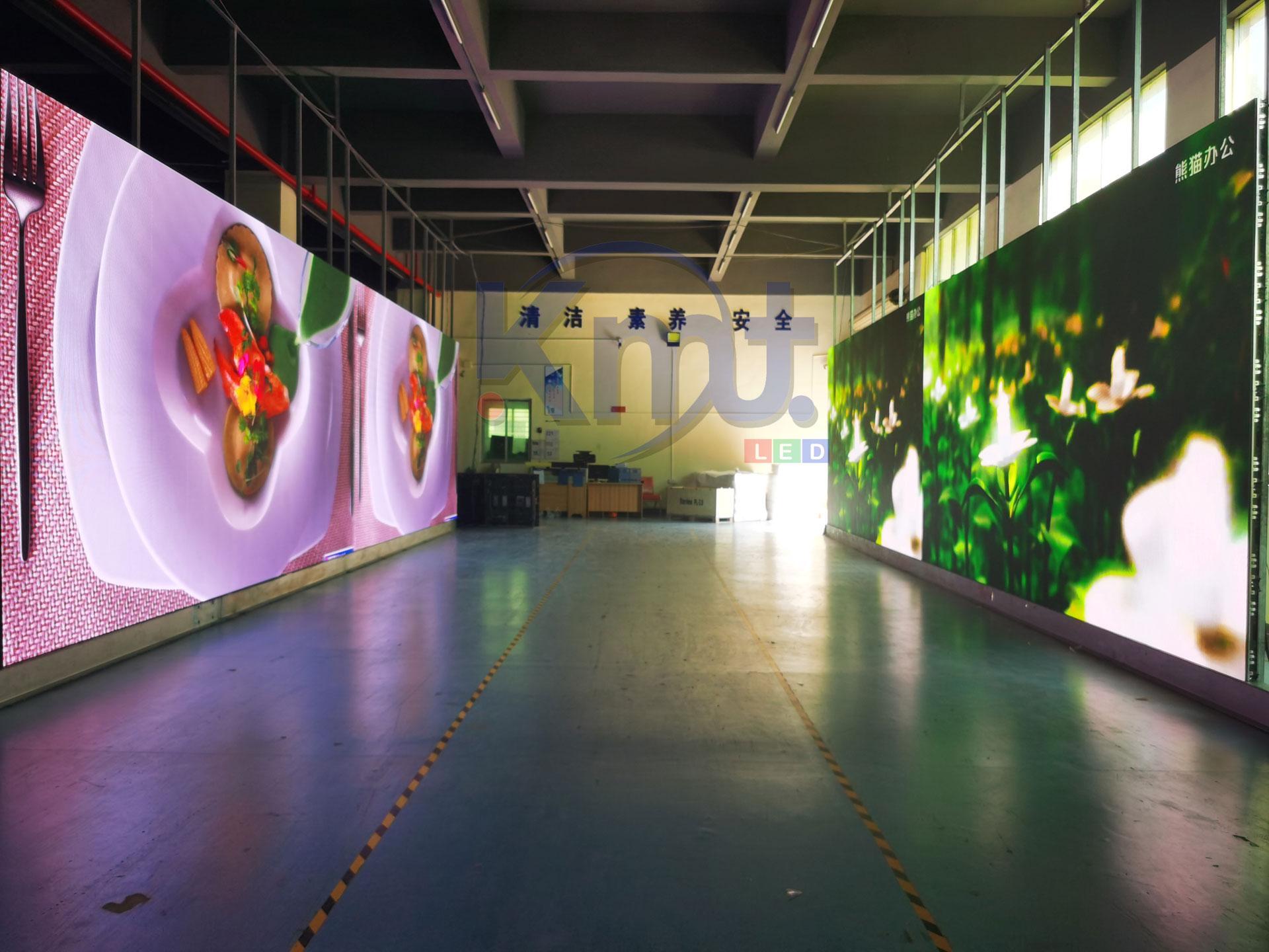 p3.91  1000 square indoor display