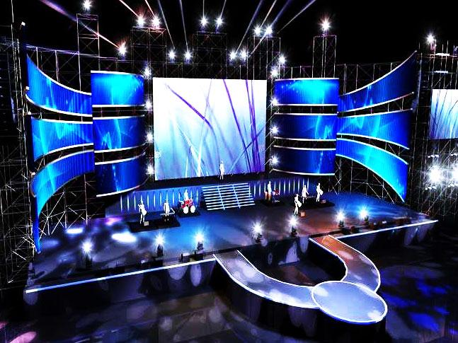 Stage HD  LED display